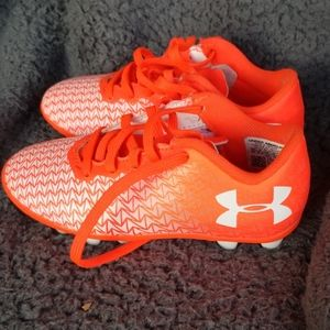 UnderArmour little girls cleats